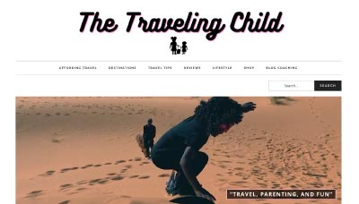 The Traveling Child - Website